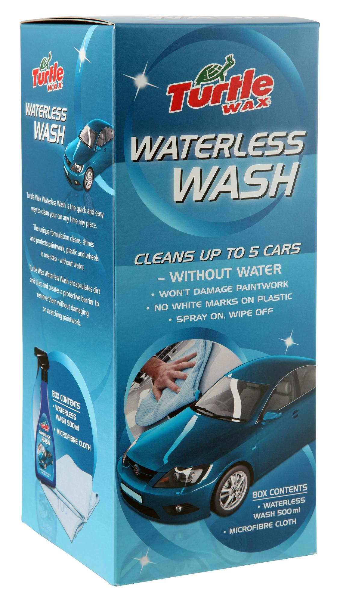 how to clean car wax off plastic