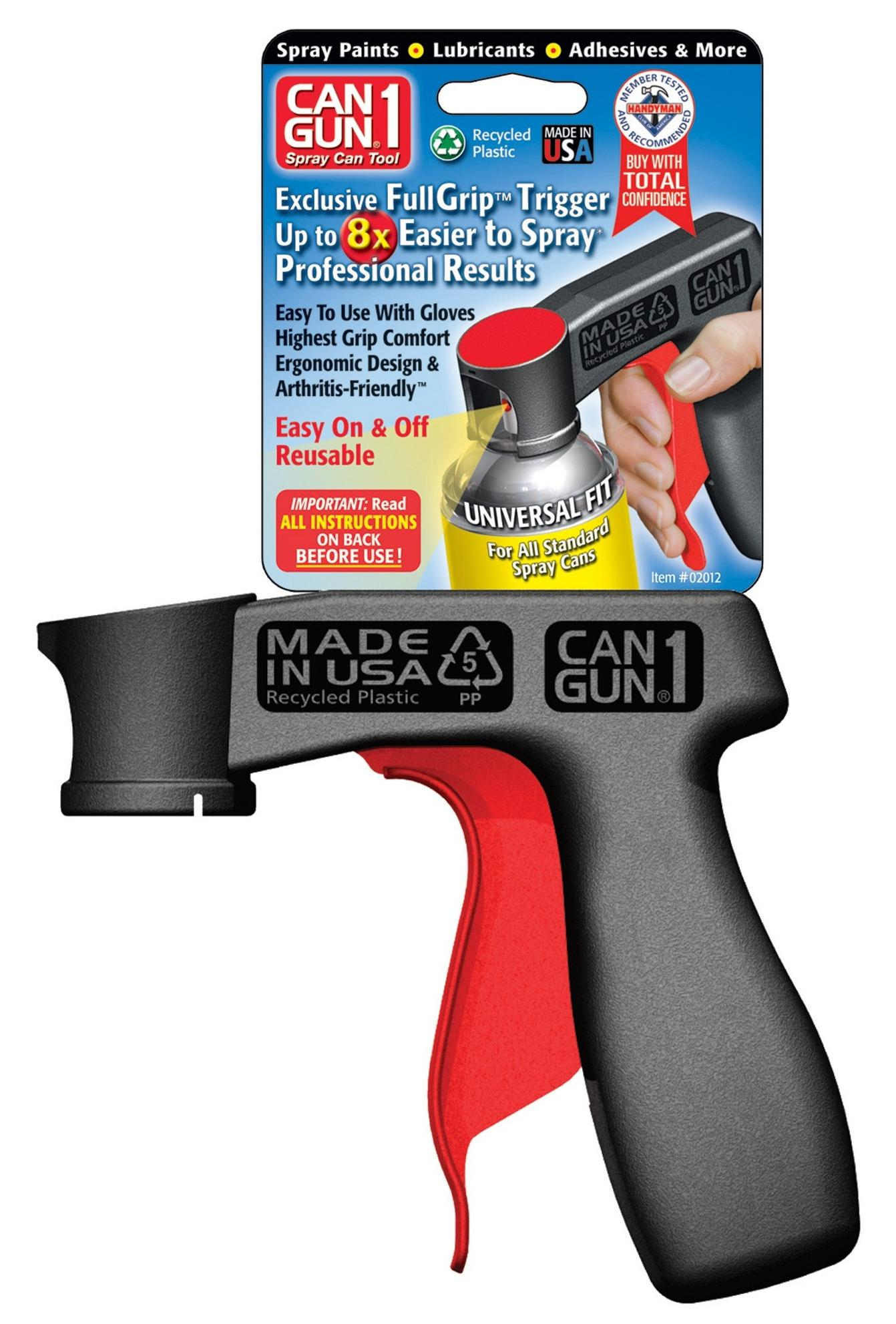 can gun 1 universal spray can tool recycled plastic. Black Bedroom Furniture Sets. Home Design Ideas
