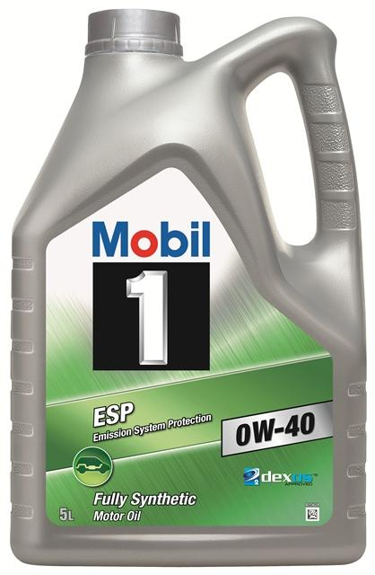 mobil 1 esp sae 0w 40 motor engine oil 5 litres fully. Black Bedroom Furniture Sets. Home Design Ideas