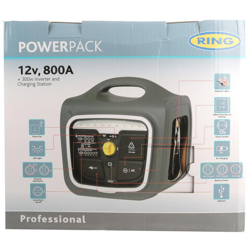 Ring Professional Powerpack With Inverter