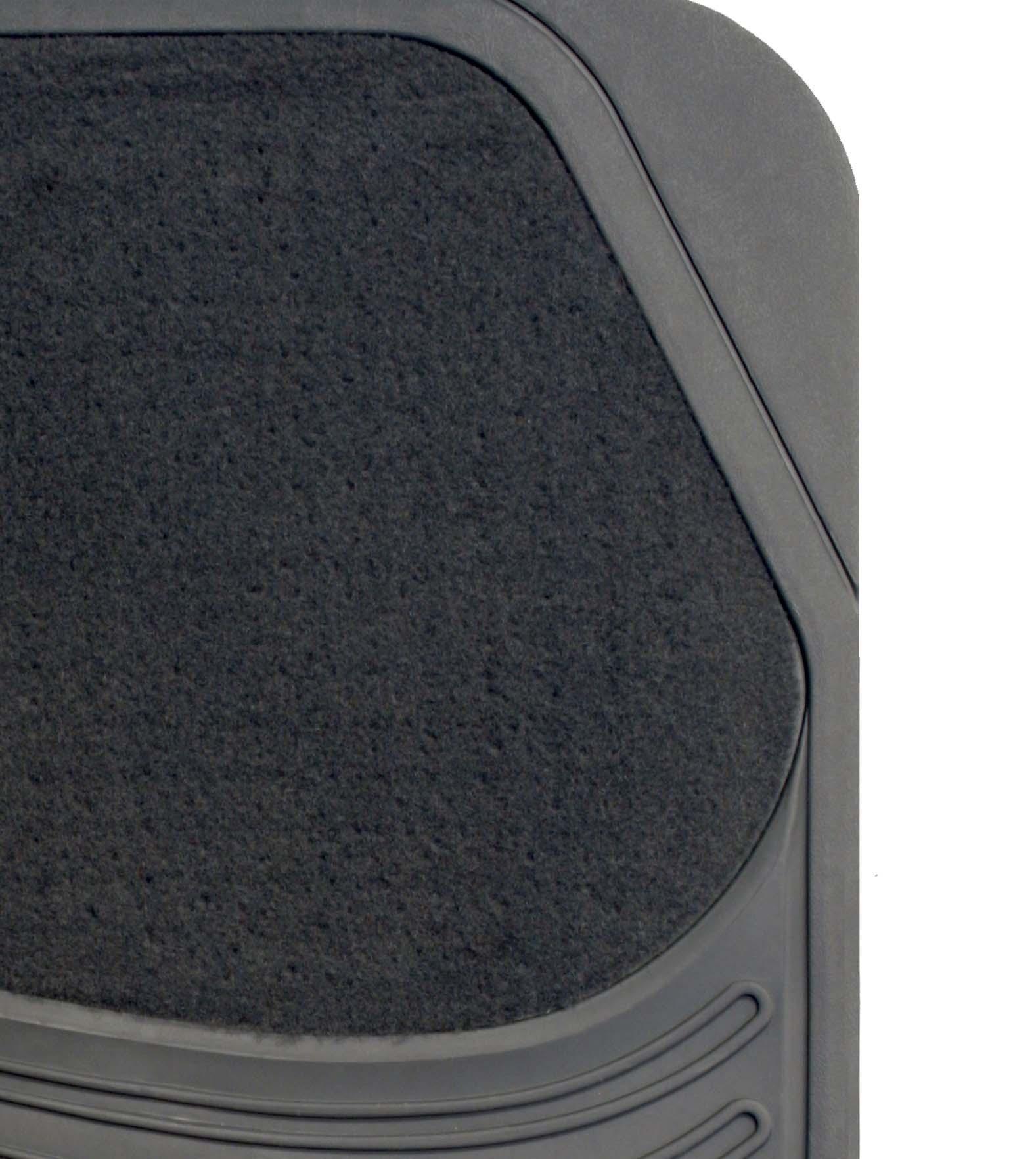 Halfords Carpet Amp Rubber Car Floor Mats Front Rear Set