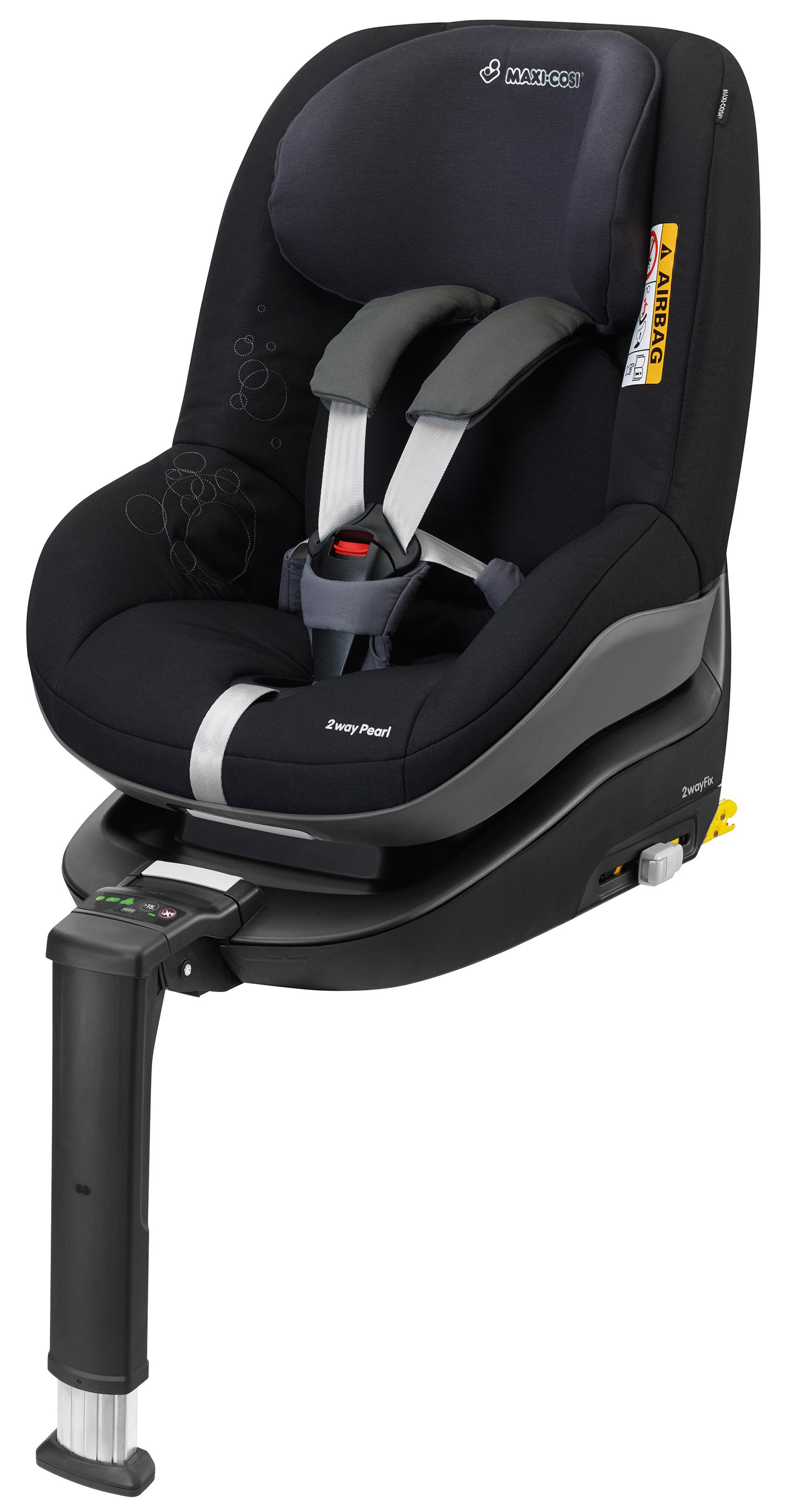 maxi cosi 2way duo pack car seat total black forward rear facing isofix reclines ebay. Black Bedroom Furniture Sets. Home Design Ideas