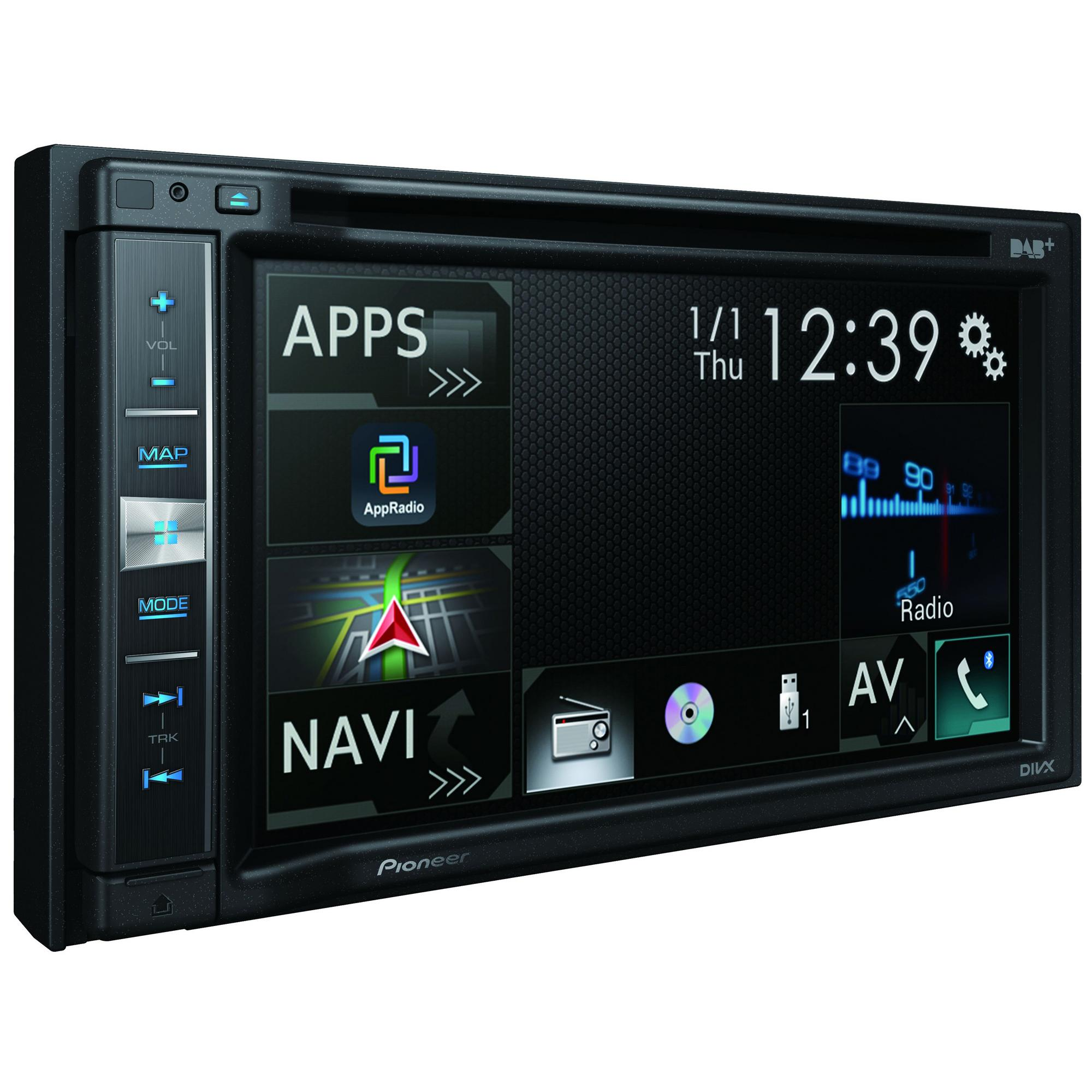 pioneer avic f980dab 6 2 touch usb dvd bluetooth. Black Bedroom Furniture Sets. Home Design Ideas