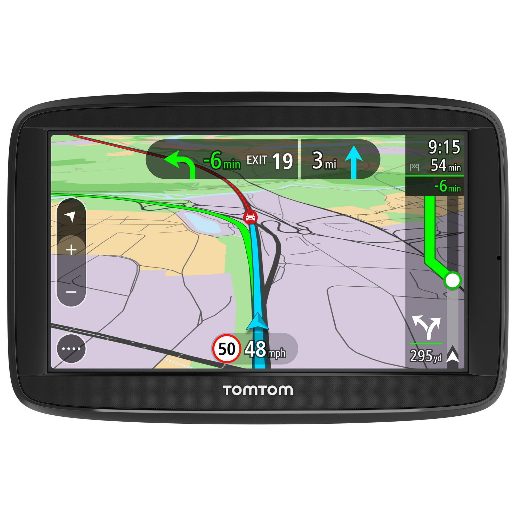 tomtom via 52 5 sat nav uk europe lifetime traffic map updates bluetooth ebay. Black Bedroom Furniture Sets. Home Design Ideas
