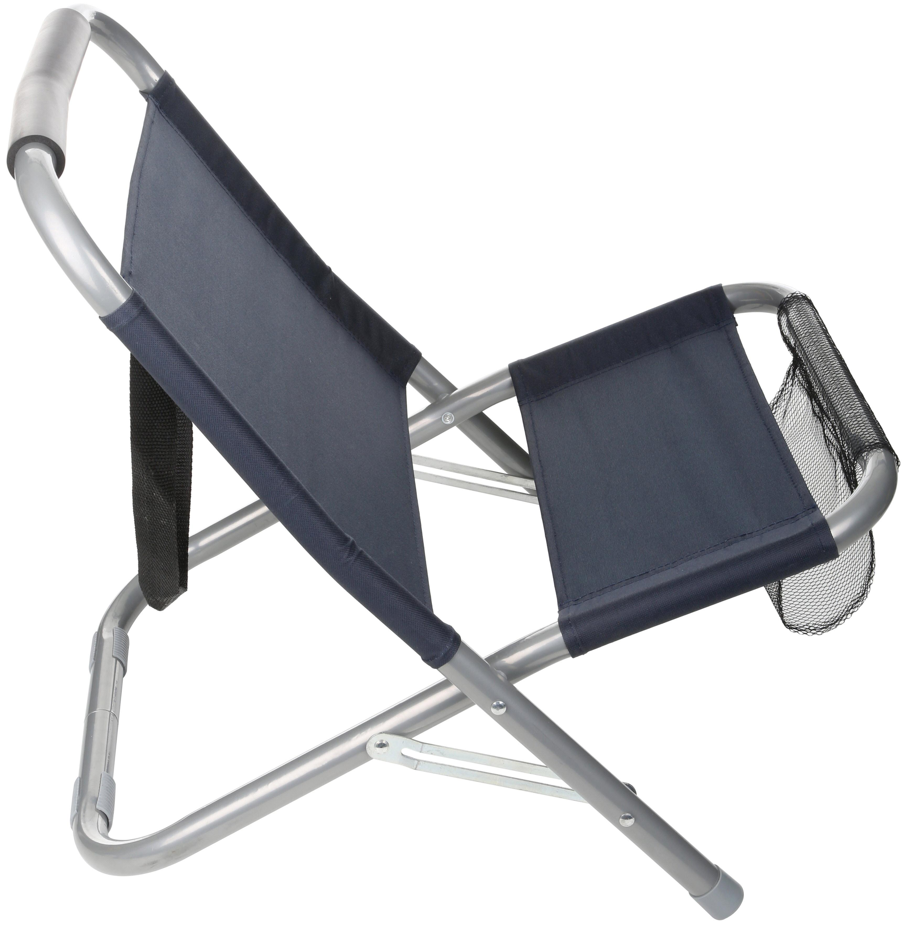 Halfords Camping Outdoor Hiking Fishing Travel Low Folding Chair 47x57x 51cm