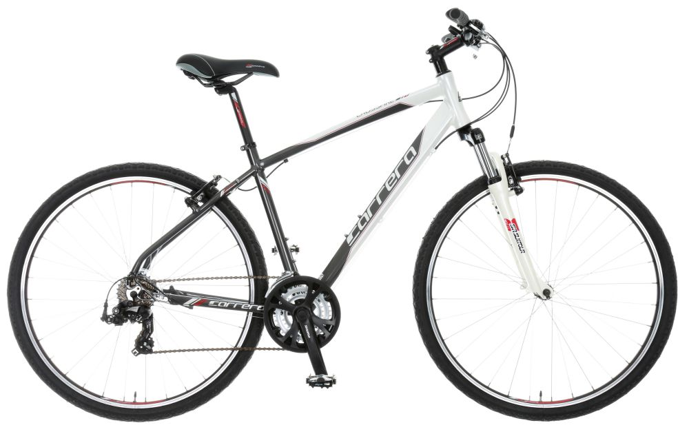 Carrera Crossfire 1 Mens Hybrid Bike 2015 Alloy Frame 21 ...