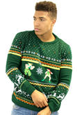 Official Street Fighter Guile Vs. Cammy Christmas Jumper