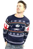 Official Star Wars Tie Fighter Vs. X-Wing Christmas Jumper