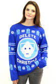 Official Doctor Who Cyberman Christmas Jumper
