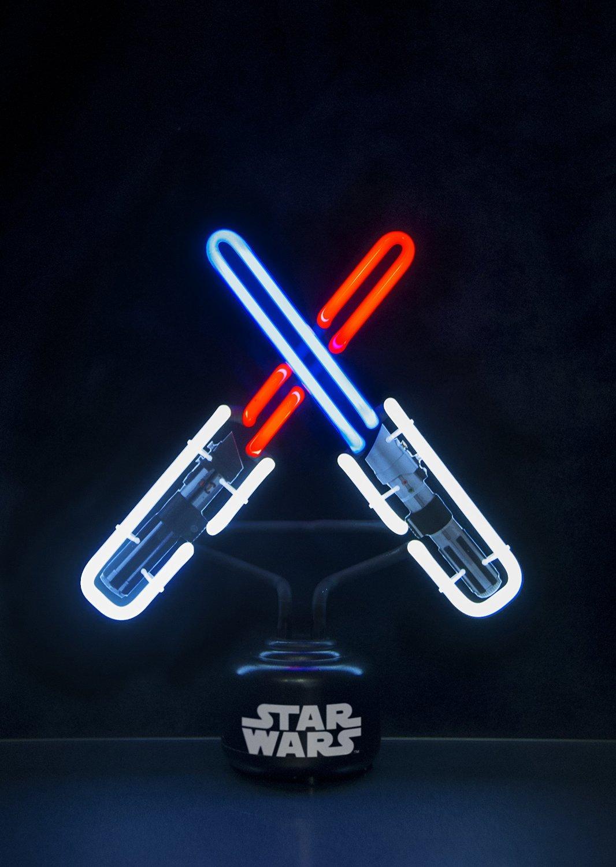 Neon Table Light: Star Wars Lightsaber Small Neon Table Light