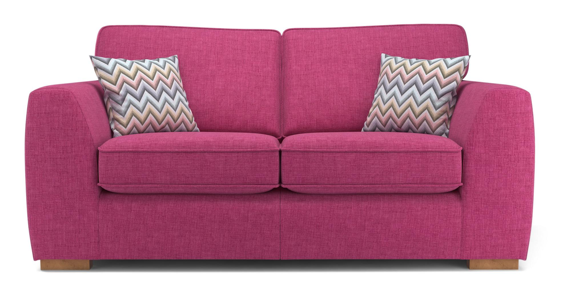 Dfs Revive Orchid Fabric 2 Seater Sofa Bed 141535 Ebay