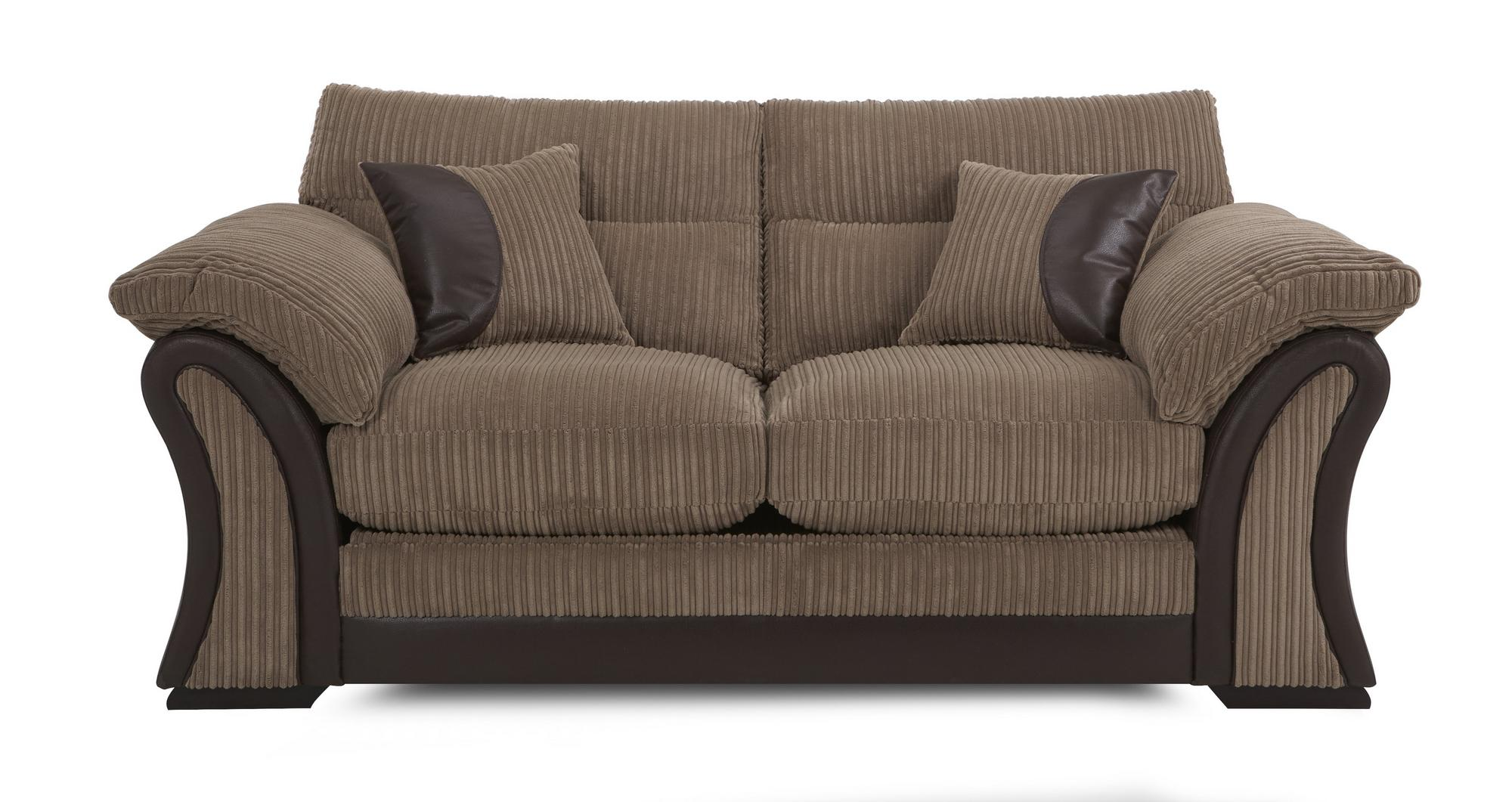 Dfs Walton Nutmeg Fabric Large 2 Seater Sofa Bed Storage