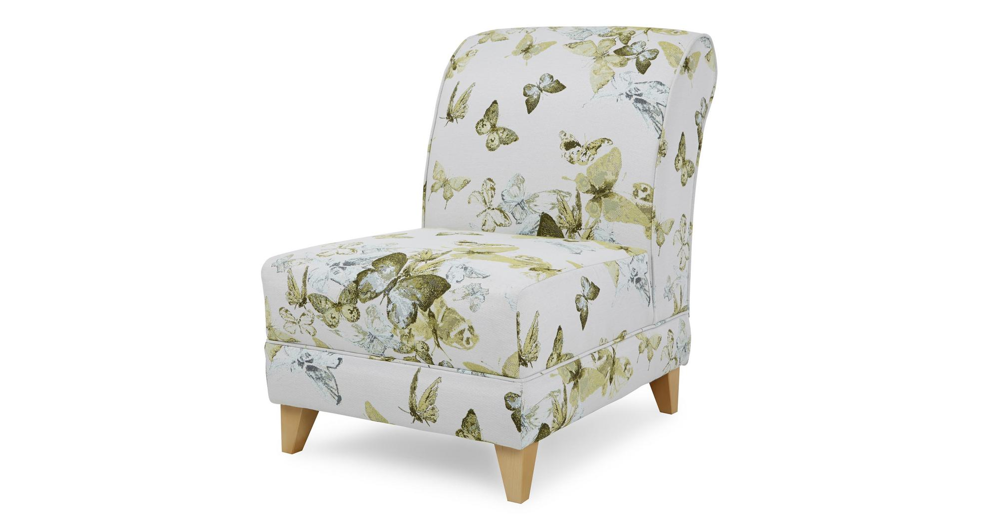 dfs corinne lime green fabric patterned accent chair 182856 ebay. Black Bedroom Furniture Sets. Home Design Ideas