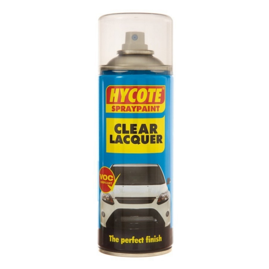 Hycote Clear Lacquer 400ml 1 X Aerosol Spray Paint Uk0232 Ebay