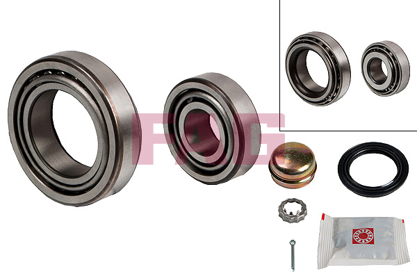 VW Golf Mk3 Variant (93-99) FAG Rear Wheel Bearing Kit 713610230