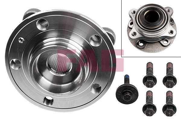 Volvo XC90 I (02-14) FAG Wheel Bearing Kit 713618610