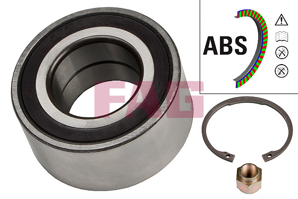 Citroën C3 Pluriel (03-) FAG Front Wheel Bearing Kit 713640310