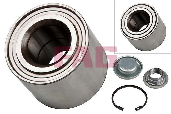 Citroën C4 Coupe (06-07) FAG Rear Wheel Bearing Kit 713640480