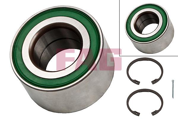 Vauxhall Combo Tour Mk2 (01-12) FAG Front Wheel Bearing Kit 713644080