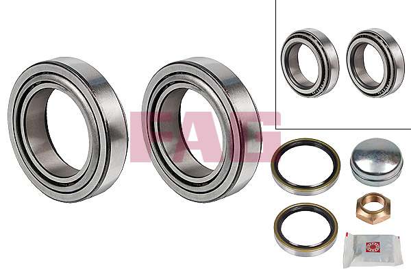 Peugeot Boxer Bus (94-02) FAG Wheel Bearing Kit 713650310