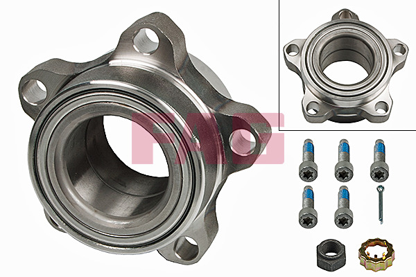 Ford Transit Box (00-06) FAG Front Wheel Bearing Kit 713678650