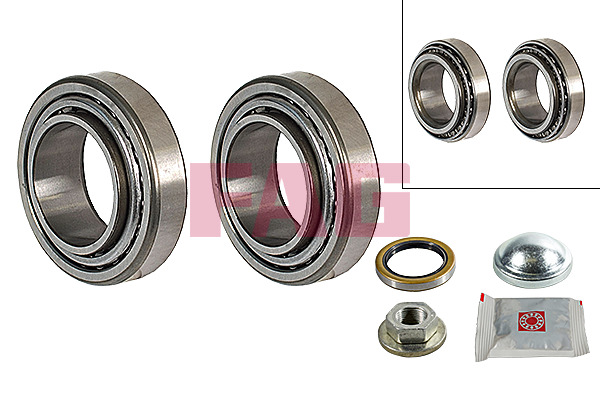 Ford Escort Classic Turnier (99-00) FAG Rear Wheel Bearing Kit 713678960