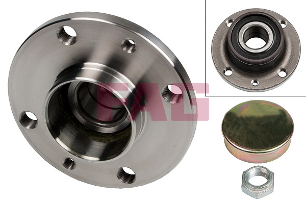 Fiat 500 C (09-) FAG Rear Wheel Bearing Kit 713690710