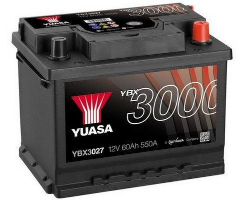 renault clio mk1 mk2 kangoo laguna megane trafic yuasa car battery ybx3027 ebay. Black Bedroom Furniture Sets. Home Design Ideas