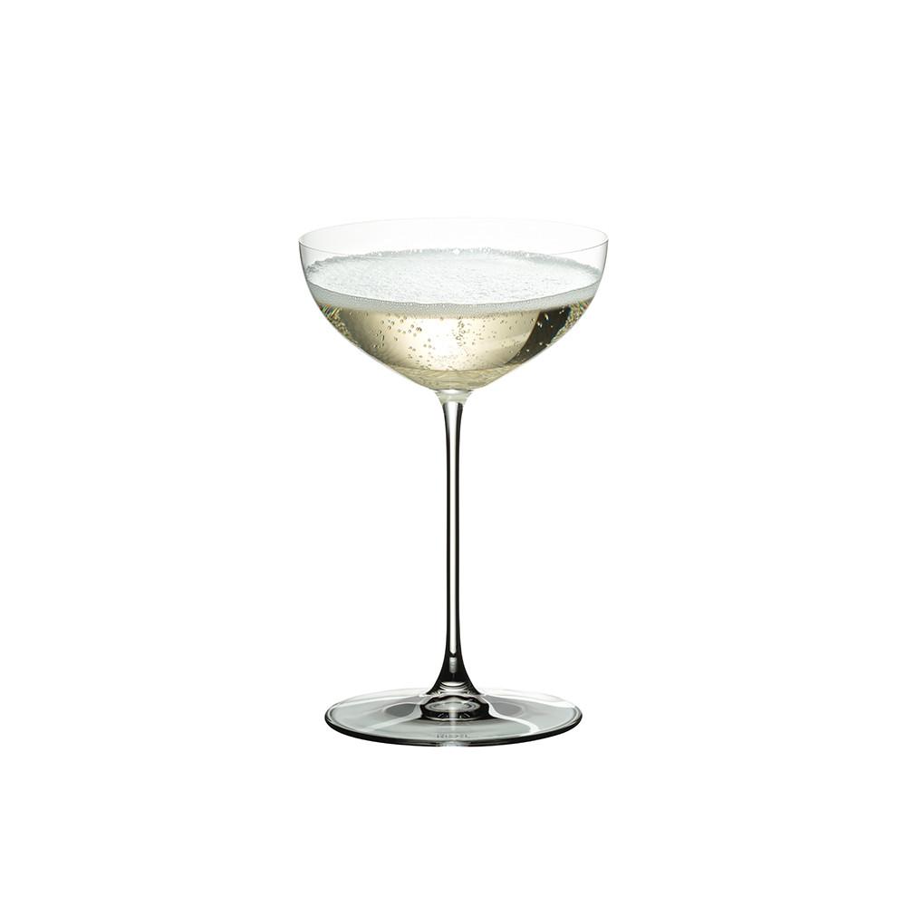 riedel veritas champagne coupe glasses x2. Black Bedroom Furniture Sets. Home Design Ideas
