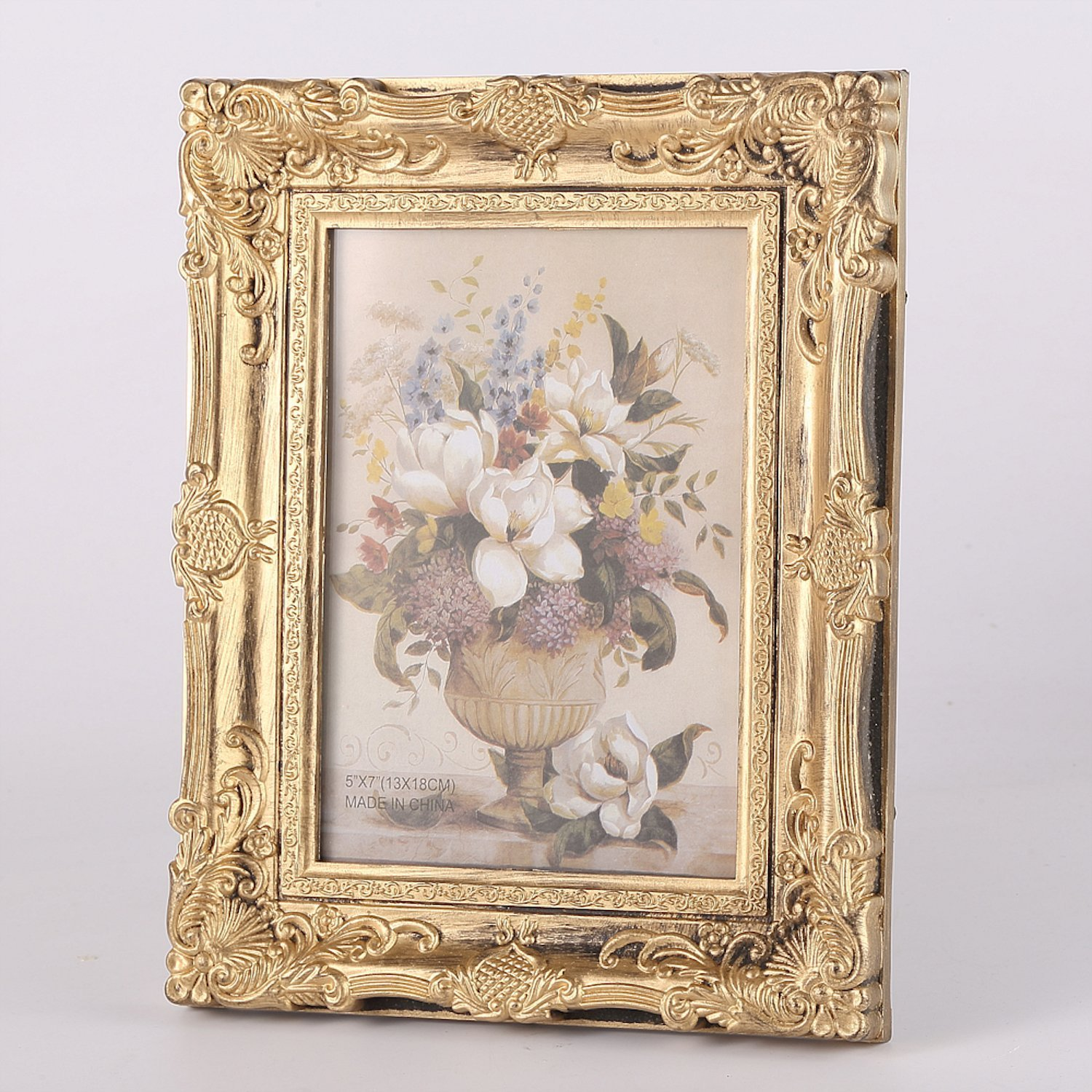 Vintage Ornate Baroque Rococo Style Photo Picture Frame Ebay