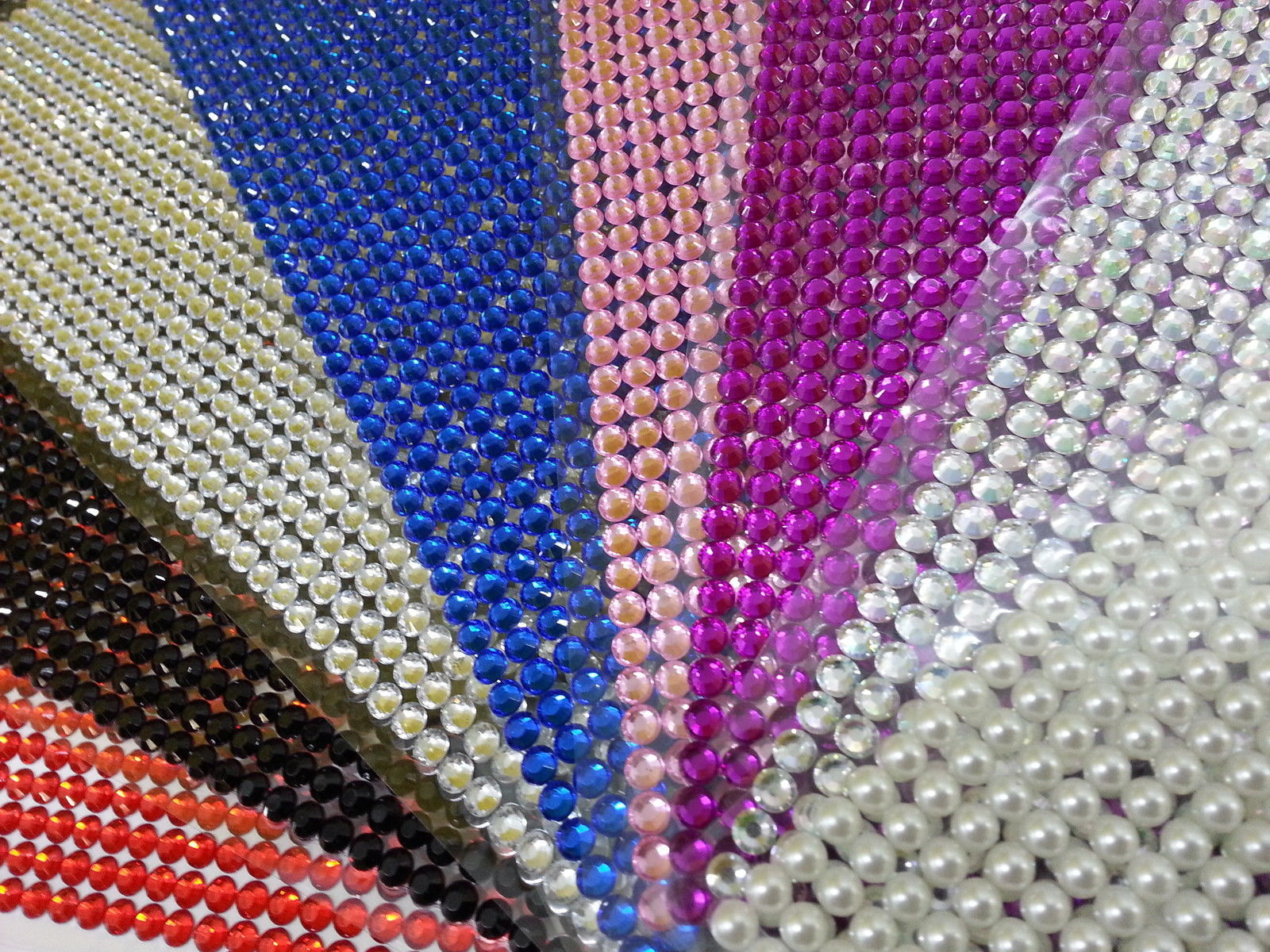 1500 bulk sheet of 5mm self adhesive diamante stick on for Stick on gems for crafts