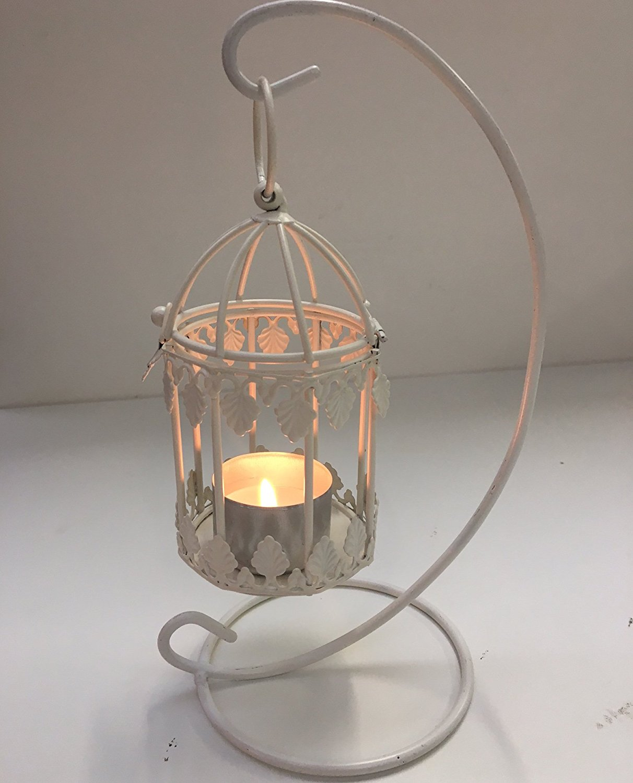 11cm mini vintage bird cage decoration with optional hanging stand ebay. Black Bedroom Furniture Sets. Home Design Ideas