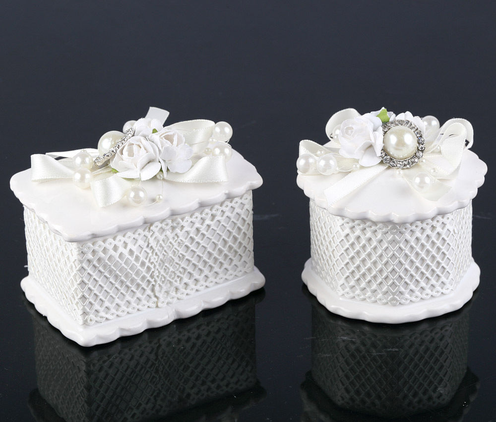Beautiful Ceramic Wedding Gift Sweet Party Favour Boxes