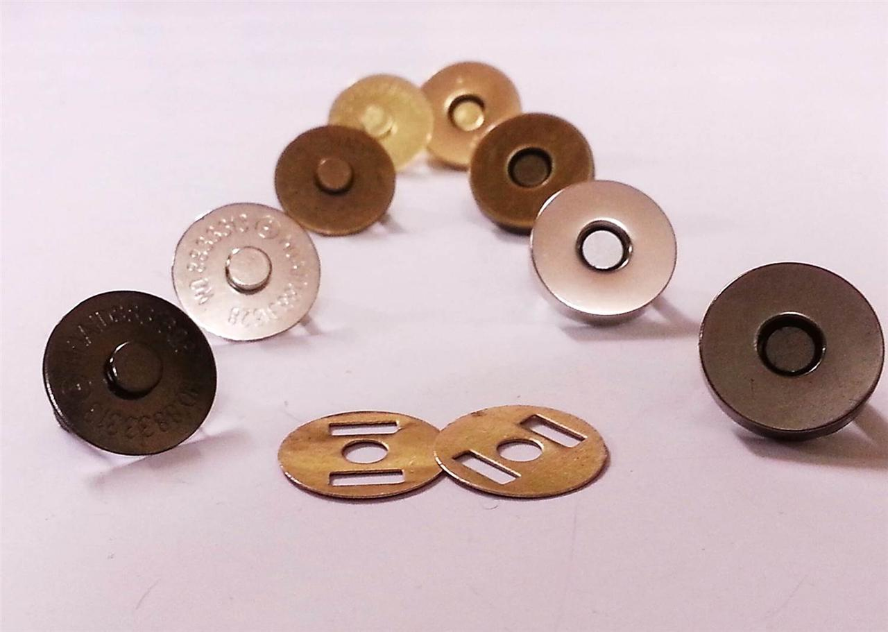 Magnetic snaps fasteners handbag craft buttons 18mm or for A href text decoration