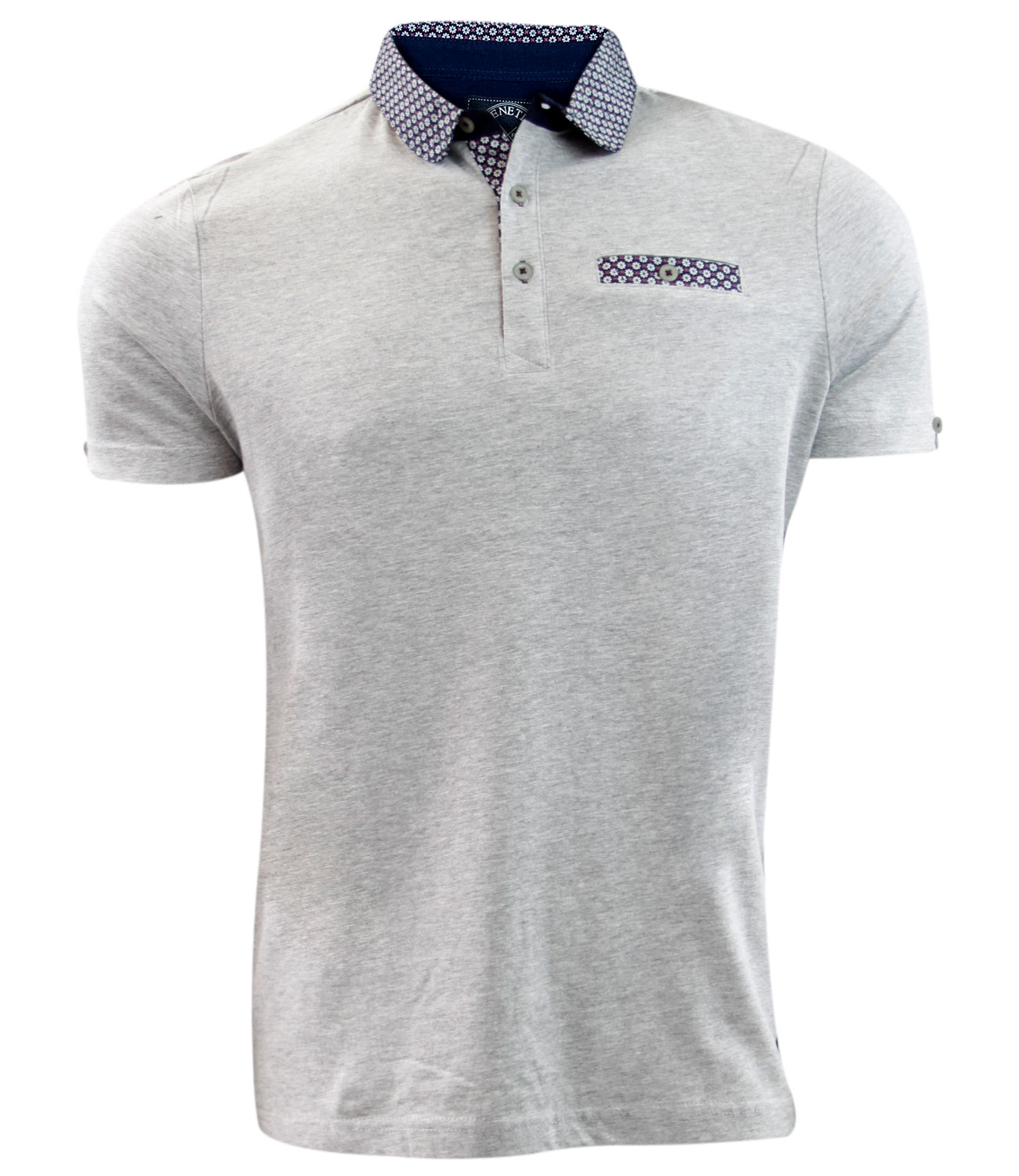 Mens new genetic apparel brand printed polo collar fashion for Different types of polo shirts
