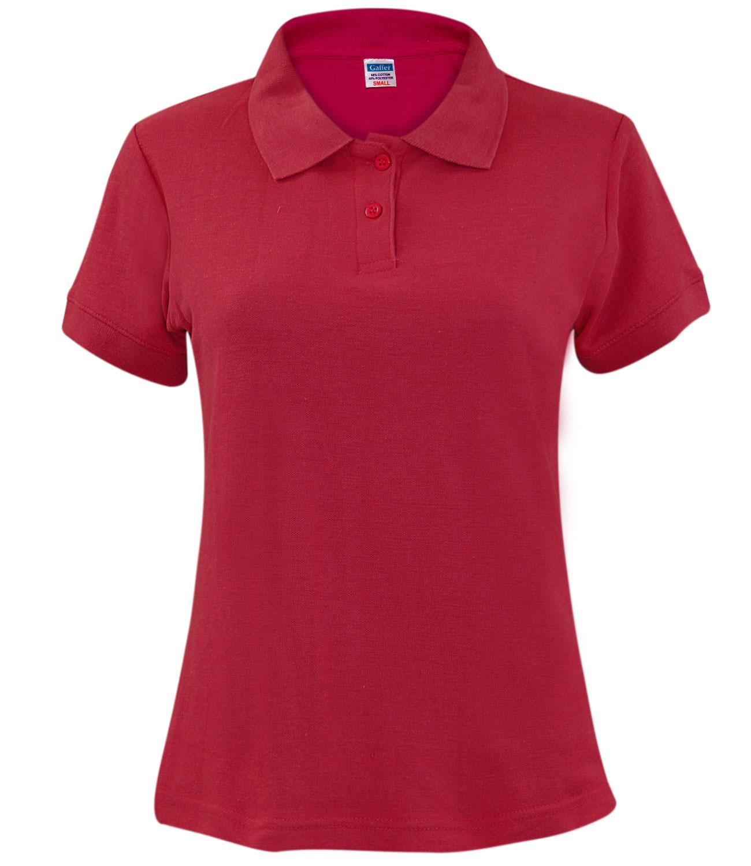 New ladies pique polo shirt pk tee collar neck plus sizes for Ladies pique polo shirts
