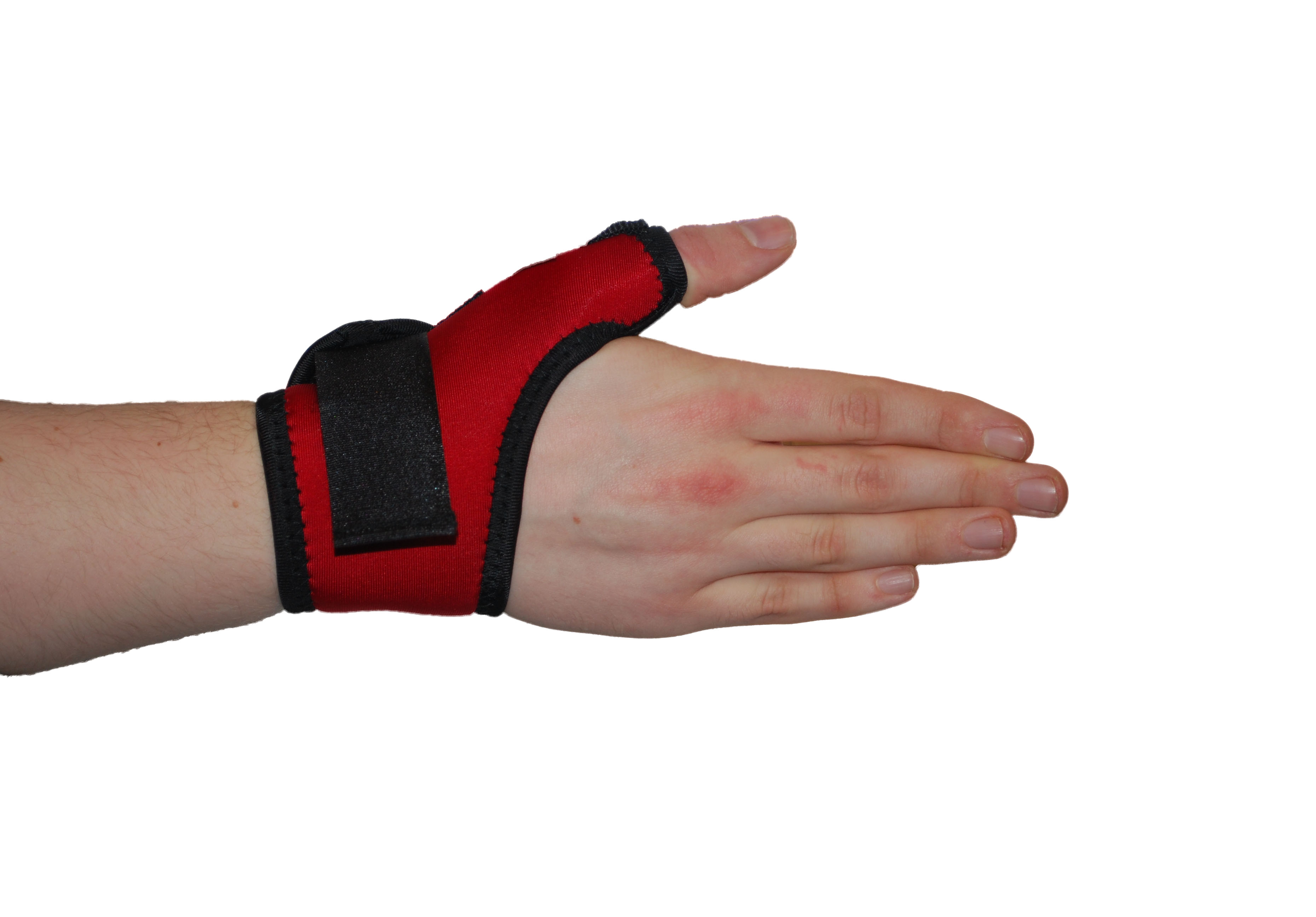 Thumb spica velcro splint