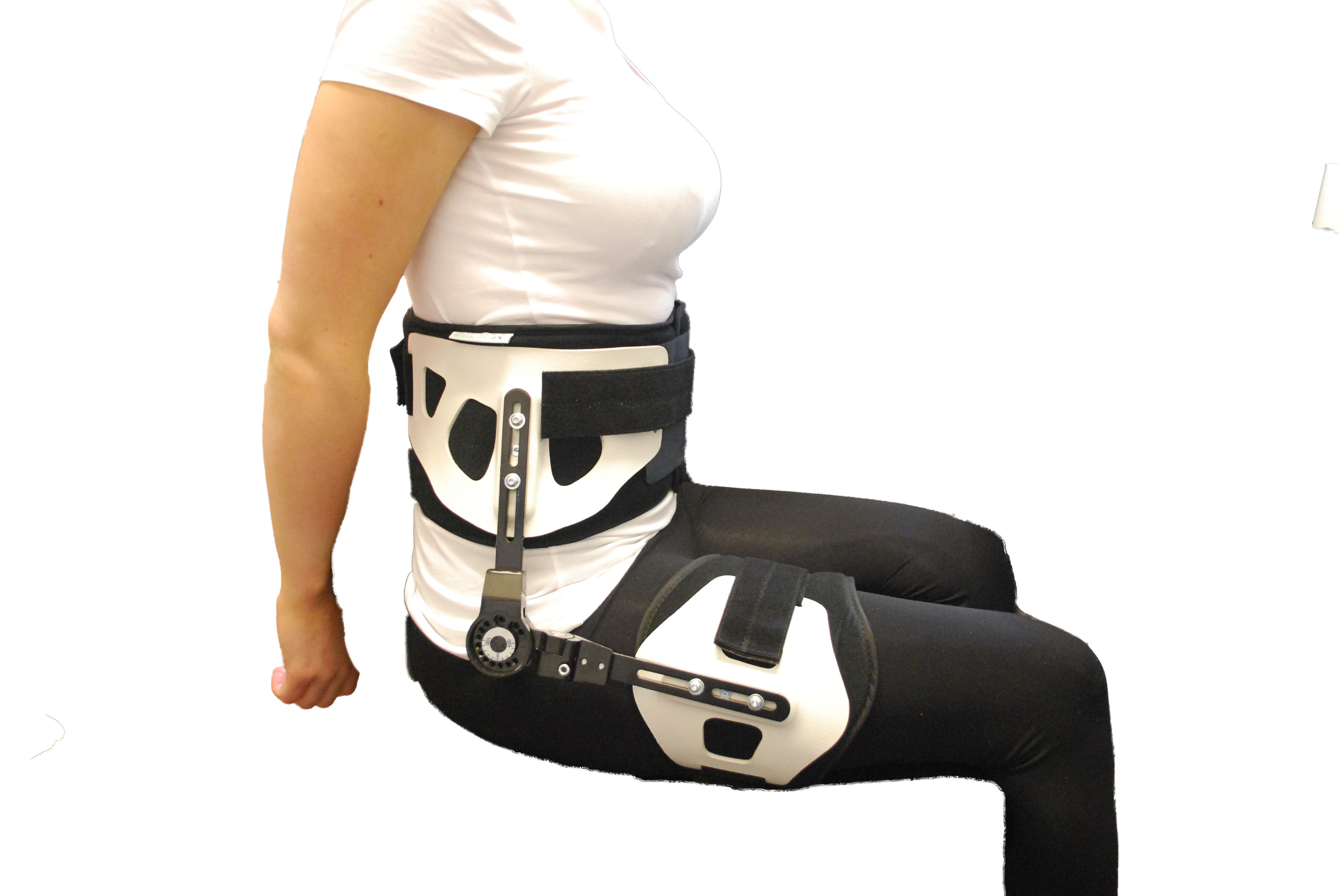 Rom Hip Support Groin Stabilizer Brace Fracture Pain