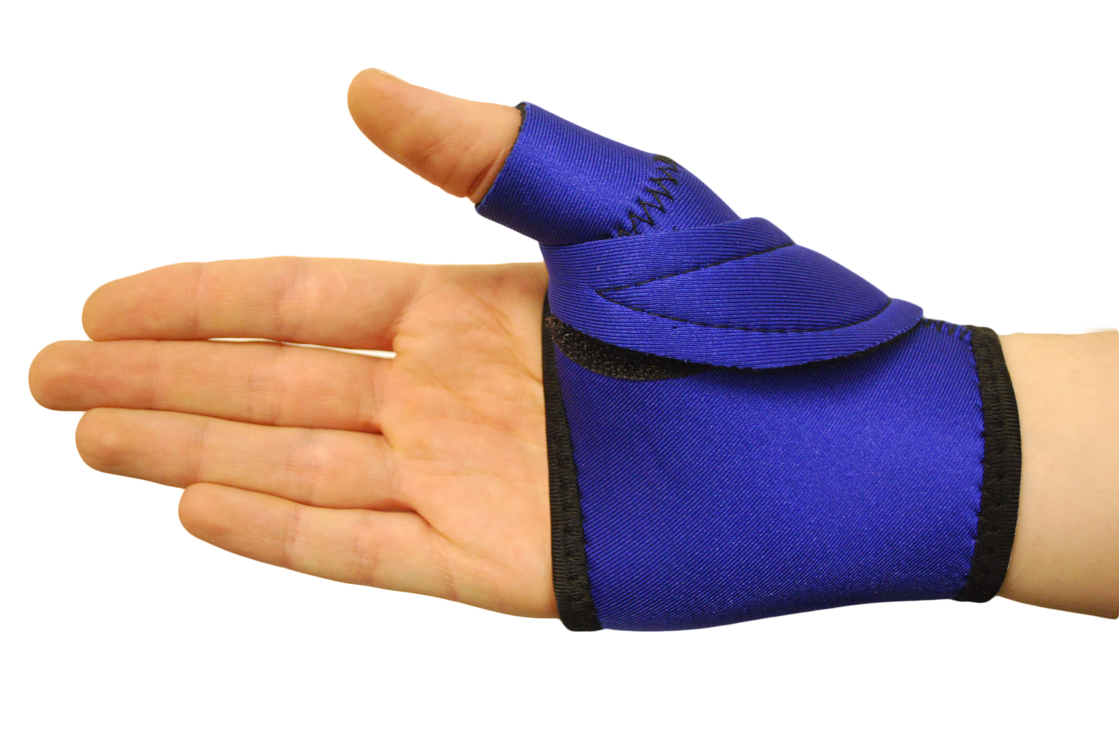 how to make thumb spica splint
