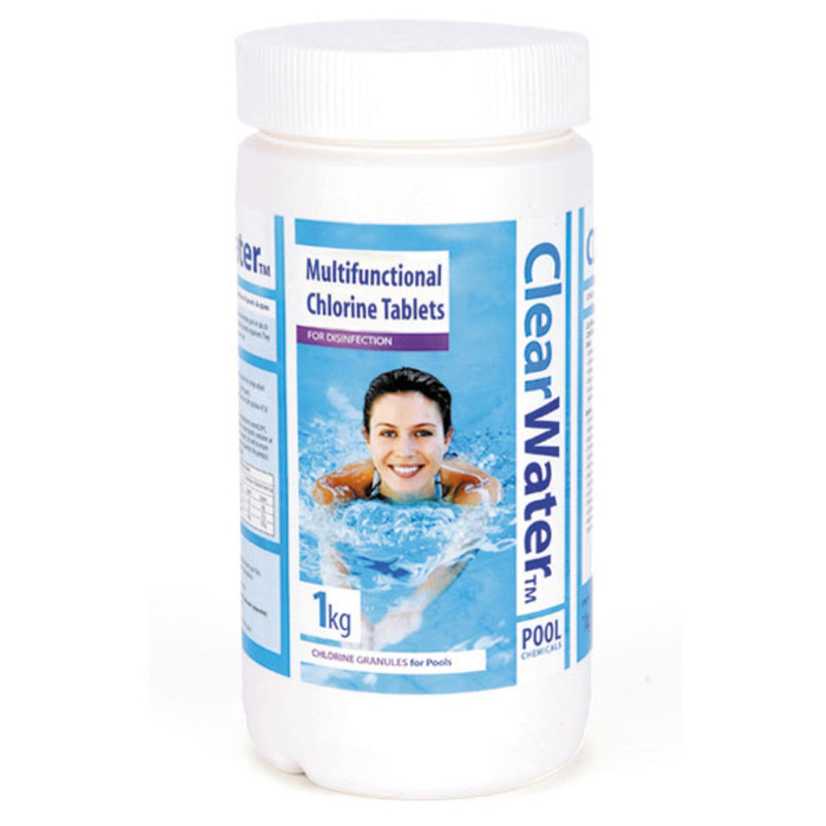Pool Treatment Chemicals : Clearwater kg multifunctional tablets g pool