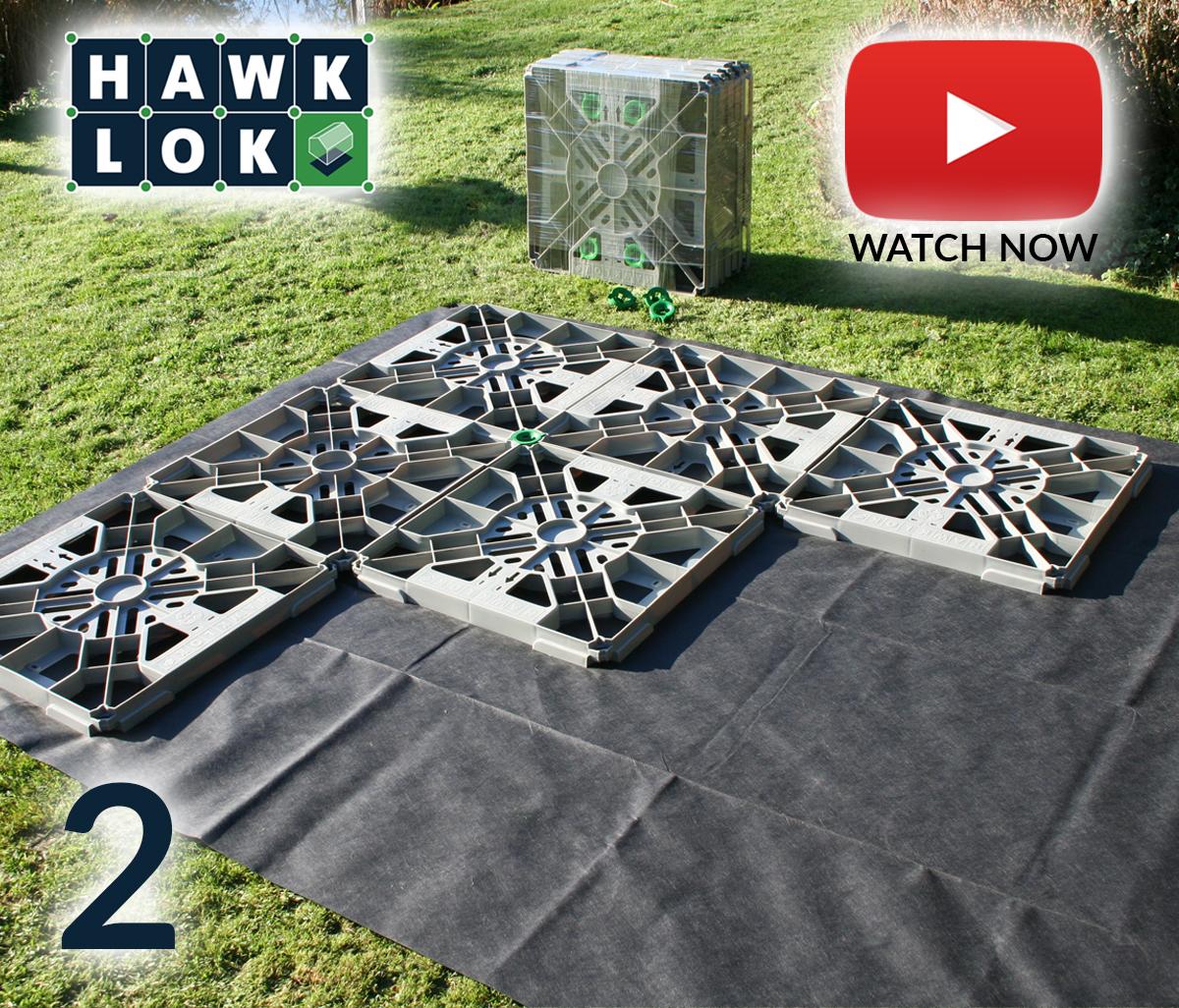 hawklok shed base kit for garden shed building all sizes. Black Bedroom Furniture Sets. Home Design Ideas