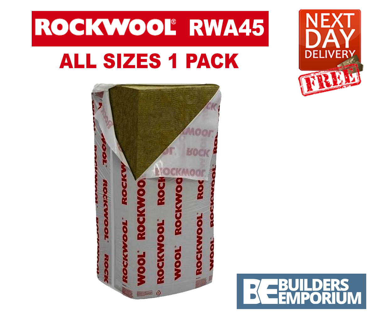Rockwool Rwa45 Acoustic Sound Insulation 50 75 And 100mm