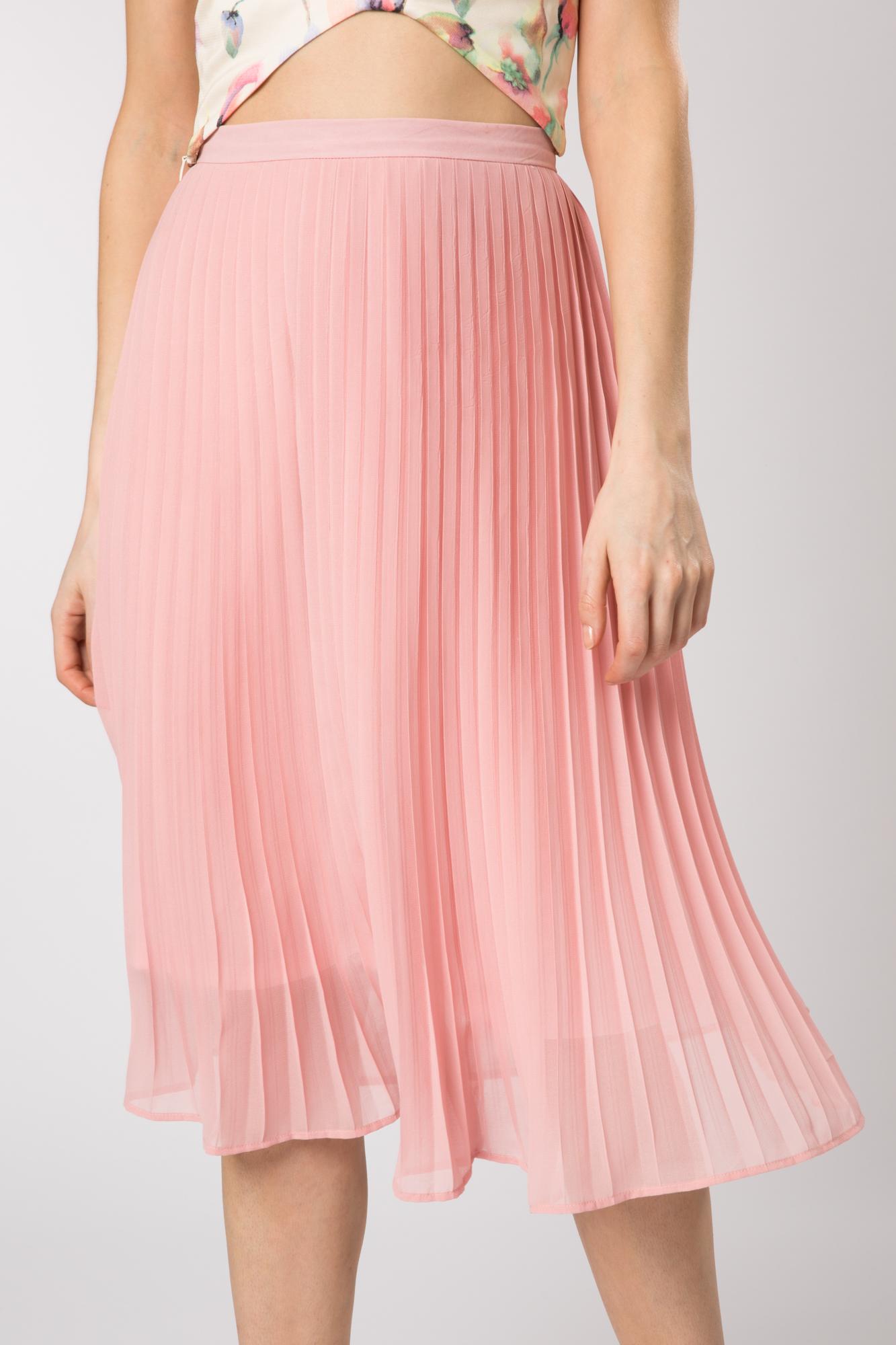 fashion union pleated skirt