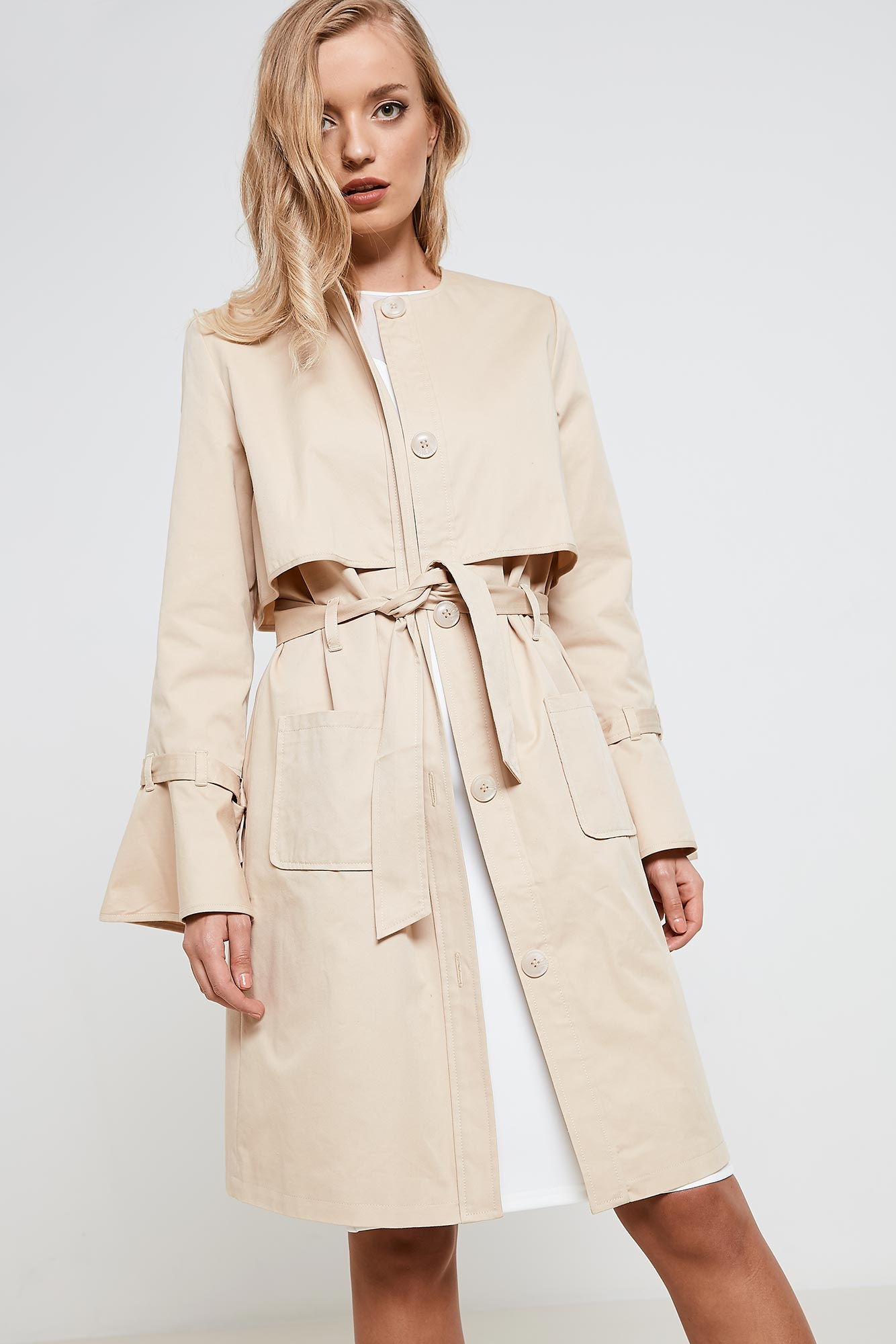 From classic to contemporary, the trench coat is an enduring wardrobe staple. Double-breasted designs in sandy tones are timeless, while options in vivid hues bring things up to date with modern flair. Master minimalist chic with a belted silhouette, or choose an edgier look with a zip fastening.