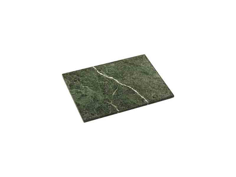 Green Marble Chopping Board Rectangle Shiney Smooth