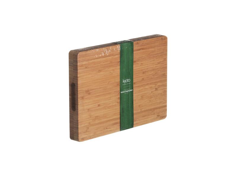 kyoto bamboo butchers block thick chopping board worktop