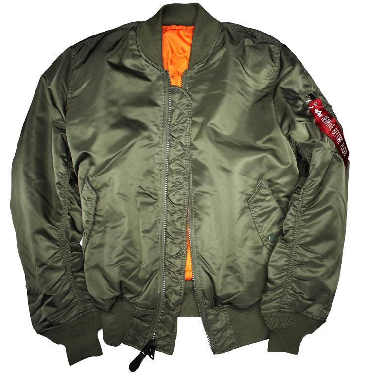 alpha industries ma1 classic genuine bomber jacket ebay. Black Bedroom Furniture Sets. Home Design Ideas
