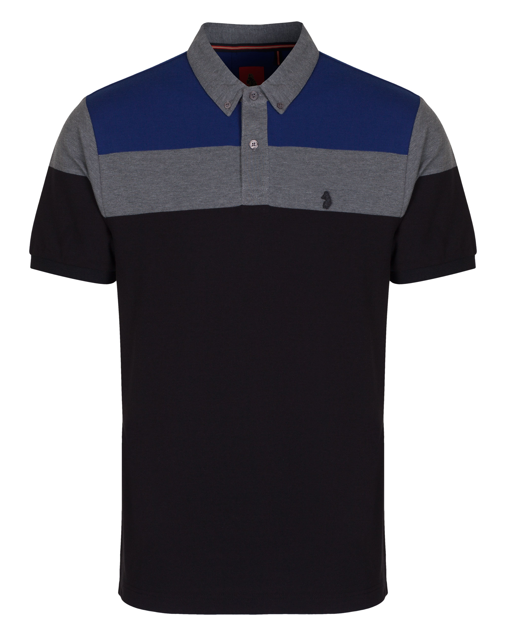 Luke 1977 sport mens mickey freedoms panel polo shirt ebay for Luke donald polo shirts