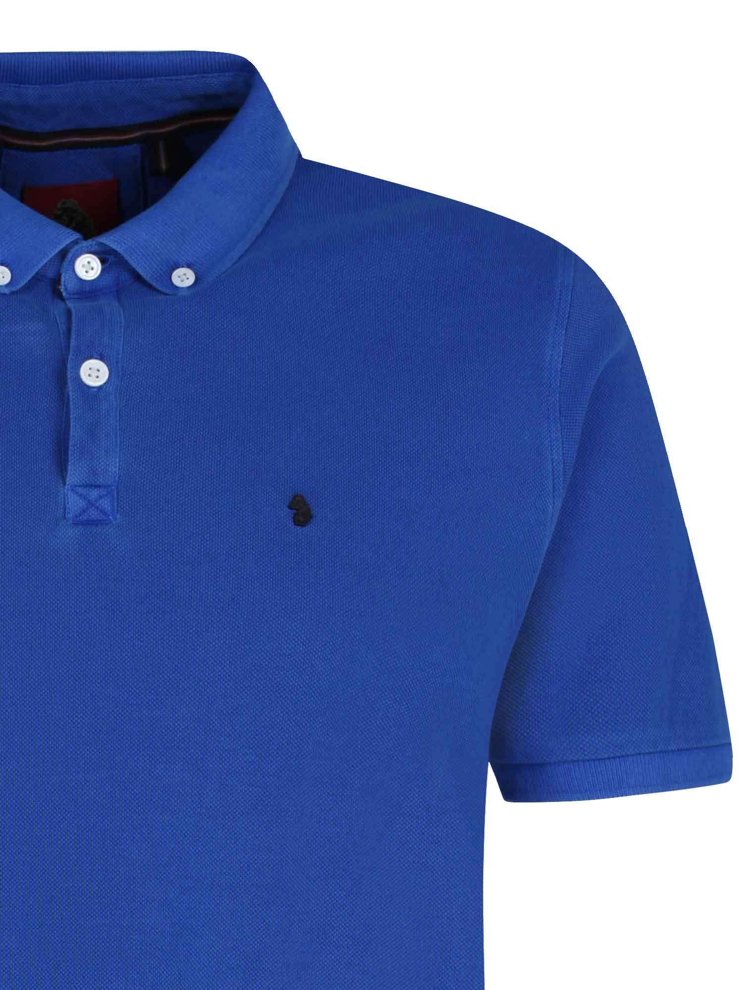 Luke 1977 Mens Basking Short Sleeve Summer Button Up Polo