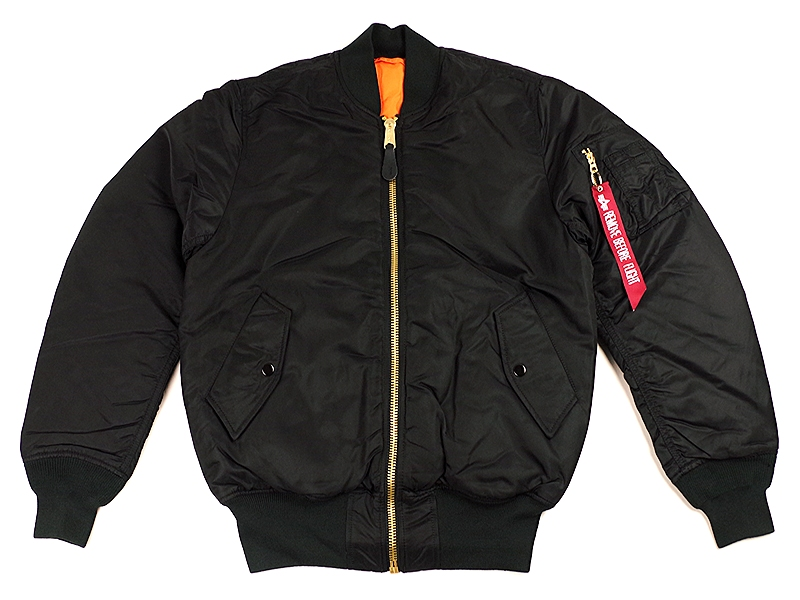 Alpha Industries MA1 Classic Genuine Bomber Jacket | eBay